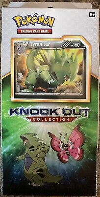 $20.99 • Buy Pokemon Knockout Collection Tyranitar 2 Booster Packs 1 Pokemon Coin And 3 Foils