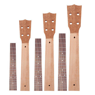 AU15.33 • Buy 21/23/26 Inch Ukulele Neck Fingerboard Set Musical Instrument Parts Accesso A#S