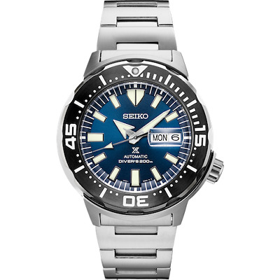 $ CDN399.28 • Buy Seiko Men's  Automatic Prospex Monster Blue Dial Divers 200M Watch SRPD25