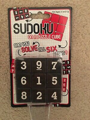 Sudoku Puzzle Cube Brand New In Packaging Ages 5 And Up • 4.60£