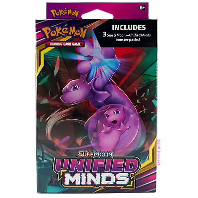 $29.99 • Buy Pokemon TCG Sun & Moon Unified Minds 3 Booster Packs Hanger Box - NEW/SEALED