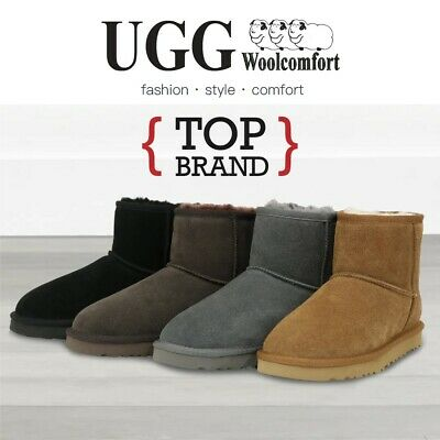 AU58 • Buy 2021 Woolcomfort UGG Boots Classic Women/Men Mini Premium Australian Sheepskin