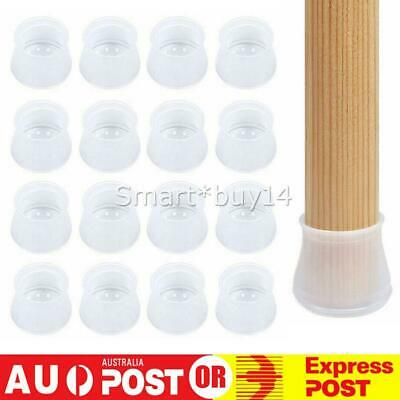 AU10.90 • Buy Silicone Furniture Leg Protection Cover Pad Table Chair Feet Floor Protector Cap