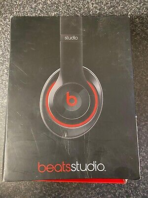 Beats By Dre Studio B0500 Over The Ear Headphones Black And Red • 44.99£