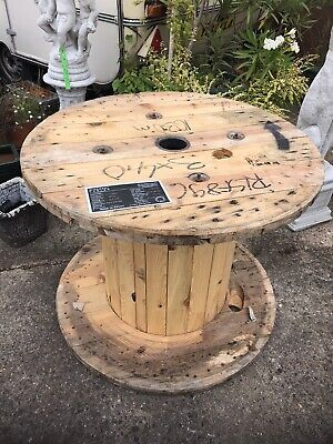 Wooden Cable Drum • 31£