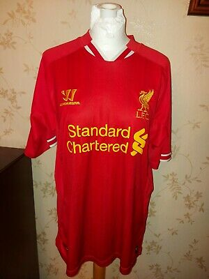 £12 • Buy Size Large Liverpool Warrior Home Shirt 2013/2014