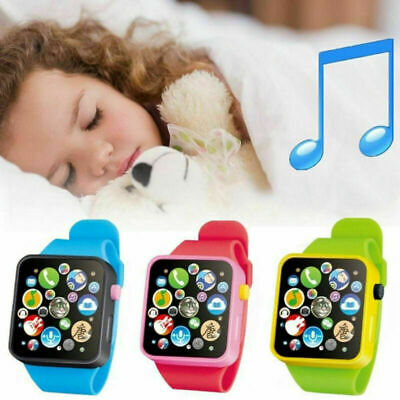 £2.97 • Buy 3D Touch Screen Educational Smart Watch Child Early Learning Music Baby Kids Toy