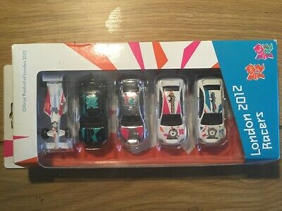 £9.99 • Buy London 2012 Olympics Official Product Set Corgi Diecast Racers Set X 5 Saved New