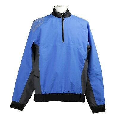 £45 • Buy Gill Men's Pro Top Zipped Pullover Size UK Large Blue Waterproof RRP £119 (G144)