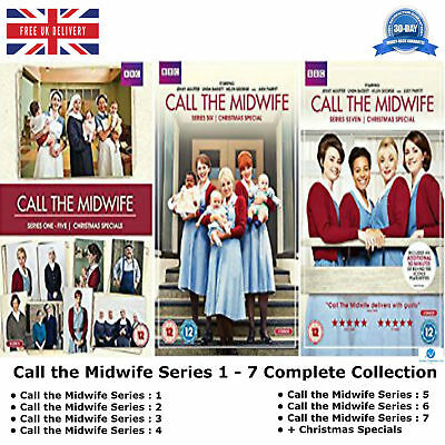 £99.99 • Buy Call The Midwife Series 1 - 7 Award-winning BBC Drama Complete 1 2 3 4 5 6 7 DVD