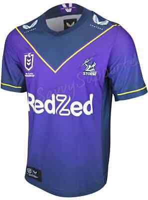 £100.65 • Buy Melbourne Storm 2021 NRL Mens Home Jersey Sizes S-4XL BNWT