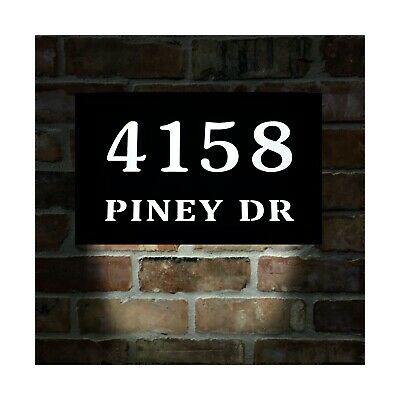 HOMIDEA LED Lighted Address Sign. Light Up House Numbers. Led House Numbers • 127.56£