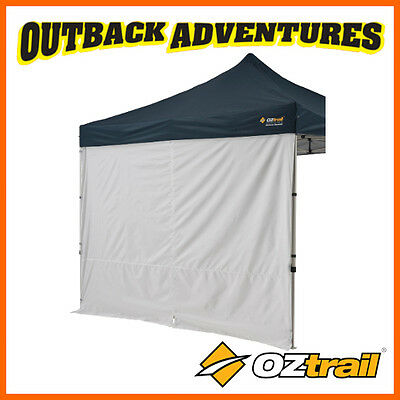 AU136 • Buy 4 X OZTRAIL GAZEBO SOLID SIDE WALL 3m WITH CENTRE ZIP NEW MODEL