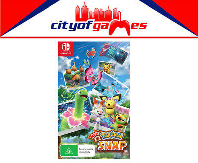 AU74.95 • Buy Pokemon Snap Nintendo SWITCH Game Brand New Pre Order