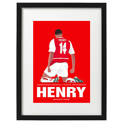 £12.99 • Buy Thierry Henry Arsenal Art Print / Poster