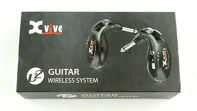 AU193.42 • Buy *Xvive U2 Wireless Guitar System-Digital Guitar Transmitter Receiver Black