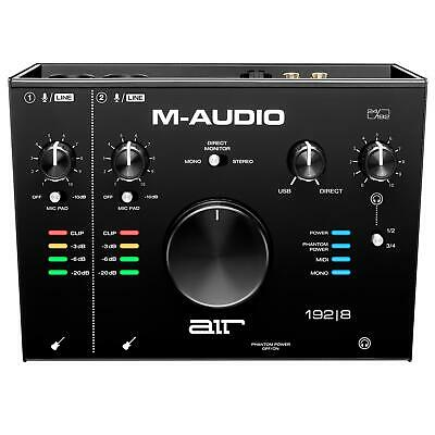 $239 • Buy M-Audio Air 192|8 USB-C Interface With ProTools|First & Ableton 192-8 AIR192-8