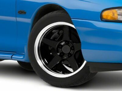 $168.99 • Buy American Muscle 2003 Cobra Style Wheel In Black 17x9 Fits Ford Mustang 1994-1998