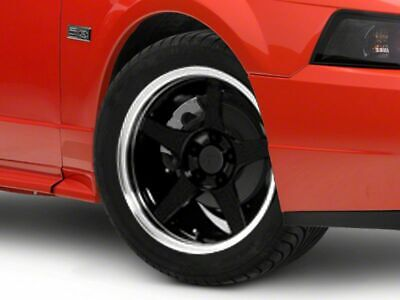 $168.99 • Buy American Muscle 2003 Cobra Style Wheel In Black 17x9 Fits Ford Mustang 1999-2004