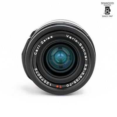 $ CDN562.41 • Buy Contax 35-70mm F/3.5-4.5 Vario-Sonnar T* Black GOOD+ FOR G2 ONLY