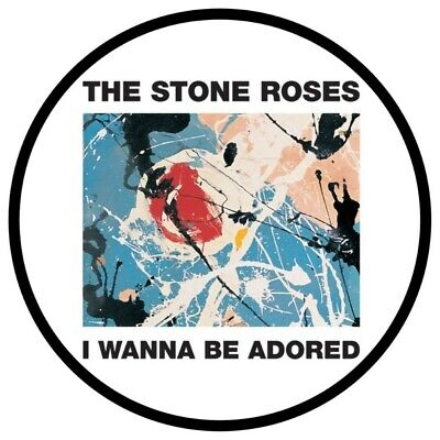 The Stone Roses  I Wanna Be Adored  Vinyl Sticker 100mm  4  Buy 2 Get 1 Free • 2£