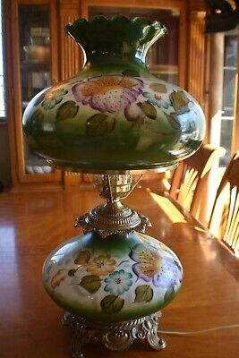 $ CDN754.88 • Buy Antique Vintage GWTW Hurricane Gone With The Wind Lamp