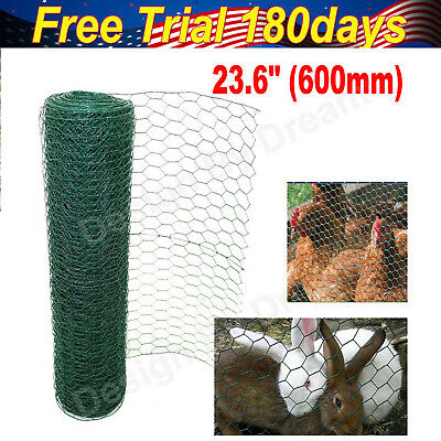 Chicken Rabbit Wire Mesh | PVC Coated | 50mm * 50mm Hole Size | 50mm Lengths UK • 48.10£