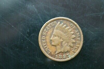 United States Of America Indian Head One Cent Coins 1865 To 1907 - Choose Year • 1.99£