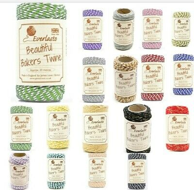 £3.99 • Buy Original Bakers Twine Craft String 20m Twin Ply Cotton Butchers