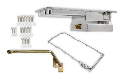 $298.99 • Buy Weiand 5049WND LS Fabricated Oil Pan Kit 4.8/5.3/5.7/6.0/6.2 Rear Sump Polished
