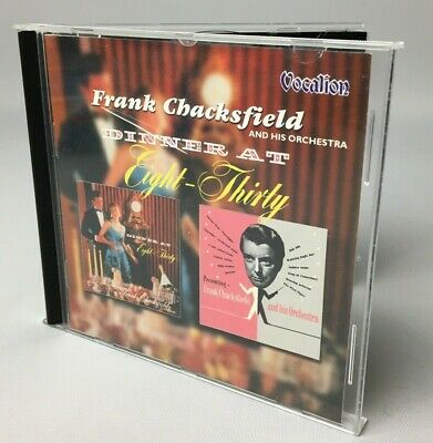 Frank Chacksfield & His Orchestra | Dinner At Eight-Thirty [2001][CD] GC • 4.95£