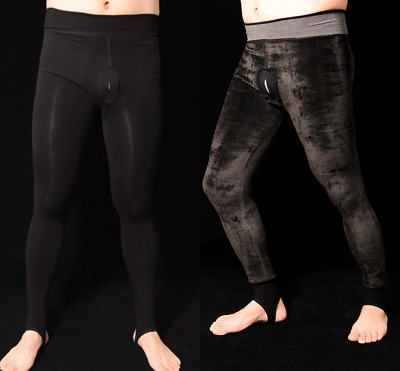 $24.99 • Buy Men Warm Pantyhose Tights Body Stockings Plush Thick Tight Trousers Underwear