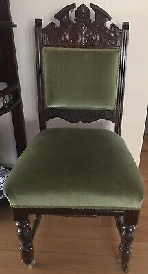 AU200 • Buy Antique Dining Chairs X4