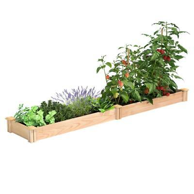 Greenes Fence Raised Garden Bed Cedar Expandable Rectangular 16 In. W X 8 Ft. L • 67.71£