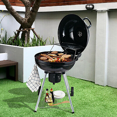 $ CDN158.56 • Buy Outsunny Portable Kettle Charcoal BBQ Grill Outdoor Barbecue Picnic Party