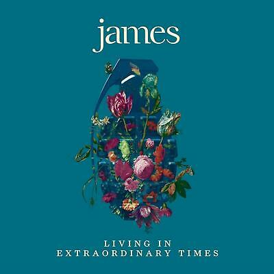 James ‎– Living In Extraordinary Times (new/sealed) Cd • 5.99£