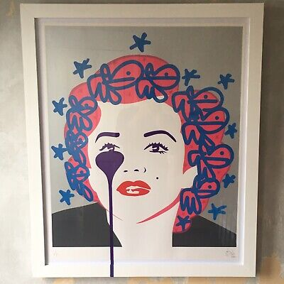 £1595 • Buy Pure Evil 'The Last Marilyn Bunnies' Hand Finished 2015 Saatchi Gallery Exhibit