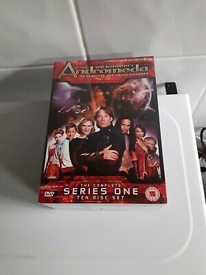 Andromeda Complete Series 1 10-disc DVD Boxset NEW SEALED  • 12£