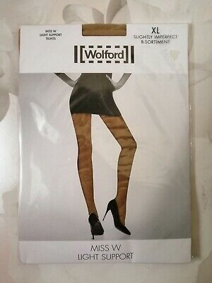 Wolford Miss W Light Support Tight Size Xl ~terre • 18£
