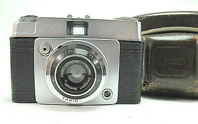 Vintage ILFORD Sportsman Viewfinder 35mm Camera Dacora 45mm F3,5 And Leather Cas • 16.95£