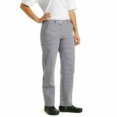 £6.99 • Buy Cotton Chef Trousers Whites Uk Made High Quality Small Check Baker Chefs Butcher
