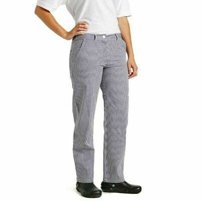Cotton Chef Trousers Whites Uk Made High Quality Small Check Baker Chefs Butcher • 6.99£