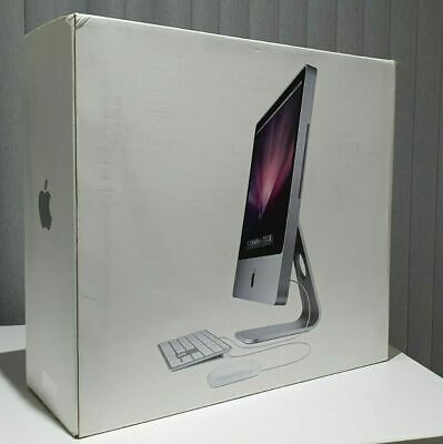  APPLE IMAC A1224 20  INCHES EMPTY WITH INSERTS BOX GOOD CONDITION TRANSIT BOX • 35£