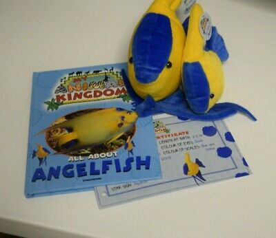 £14.99 • Buy My Animal Kingdom: All About Angelfish, 2 Toys, Hardcover Book Incl. Certificate