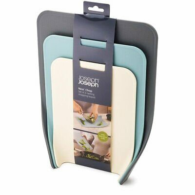 AU47.50 • Buy Joseph Joseph Nest Chop 3pc Chopping Board Set Opal