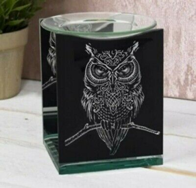 Owl Oil Burner BNIB With  One Scent Yankee Warmer Melts • 7£