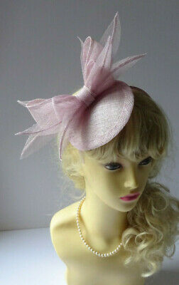 £29.99 • Buy Lilac Pink Fascinator Wedding Mother The Bride Special Occasions