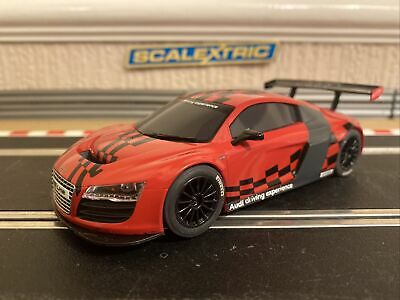 £35 • Buy Scalextric Audi R8 C3177 Fully Serviced & New Braids Fitted Runs Lovely Unboxed