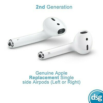$ CDN77.71 • Buy Apple AirPods 2nd Gen Left / Right Side - Genuine Replacement Part