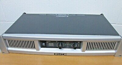 $ CDN329.86 • Buy QSC GX5 Stereo Power Amplifier Nice Working Condition Crossover Built-in 8 Ohm 4